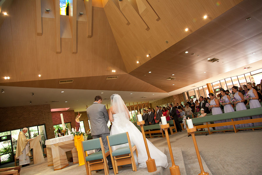 Star of the Sea Terrigal Wedding Ceremony