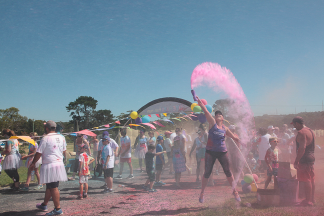 Event Photography, Dye Hard Fun Run, Central Coast