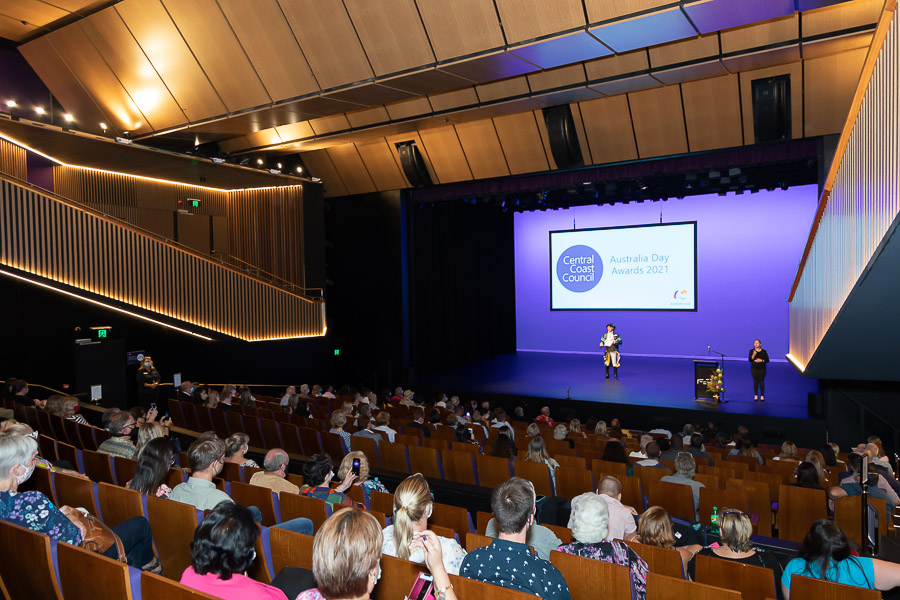 Event Photography, Australia Day Community  Awards, Essence Images Central Coast