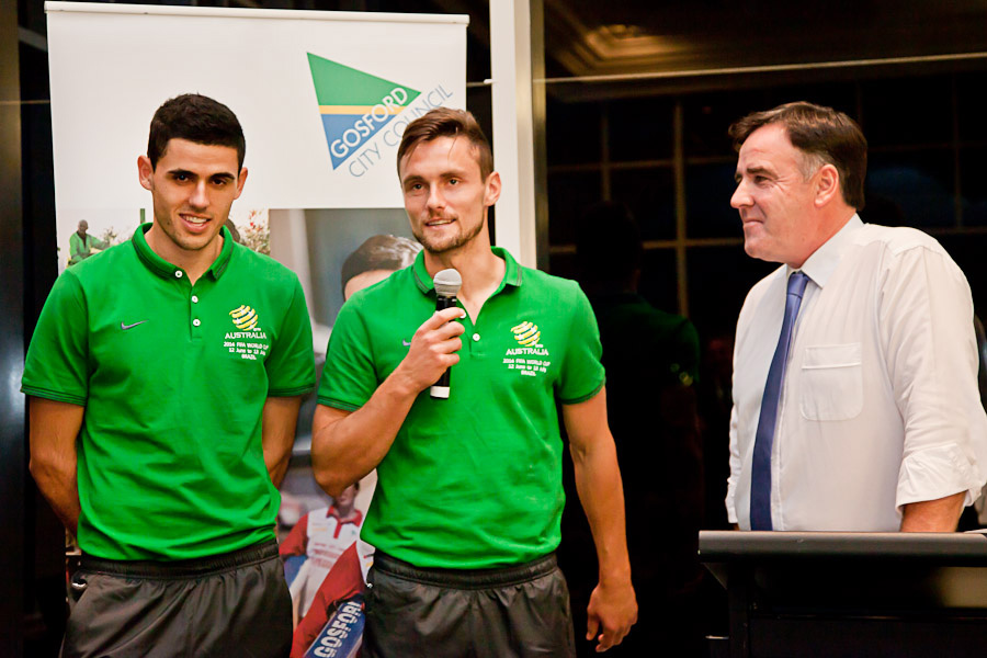 Event Photography, Mayor Reception for Socceroos, Essence Images Central Coast