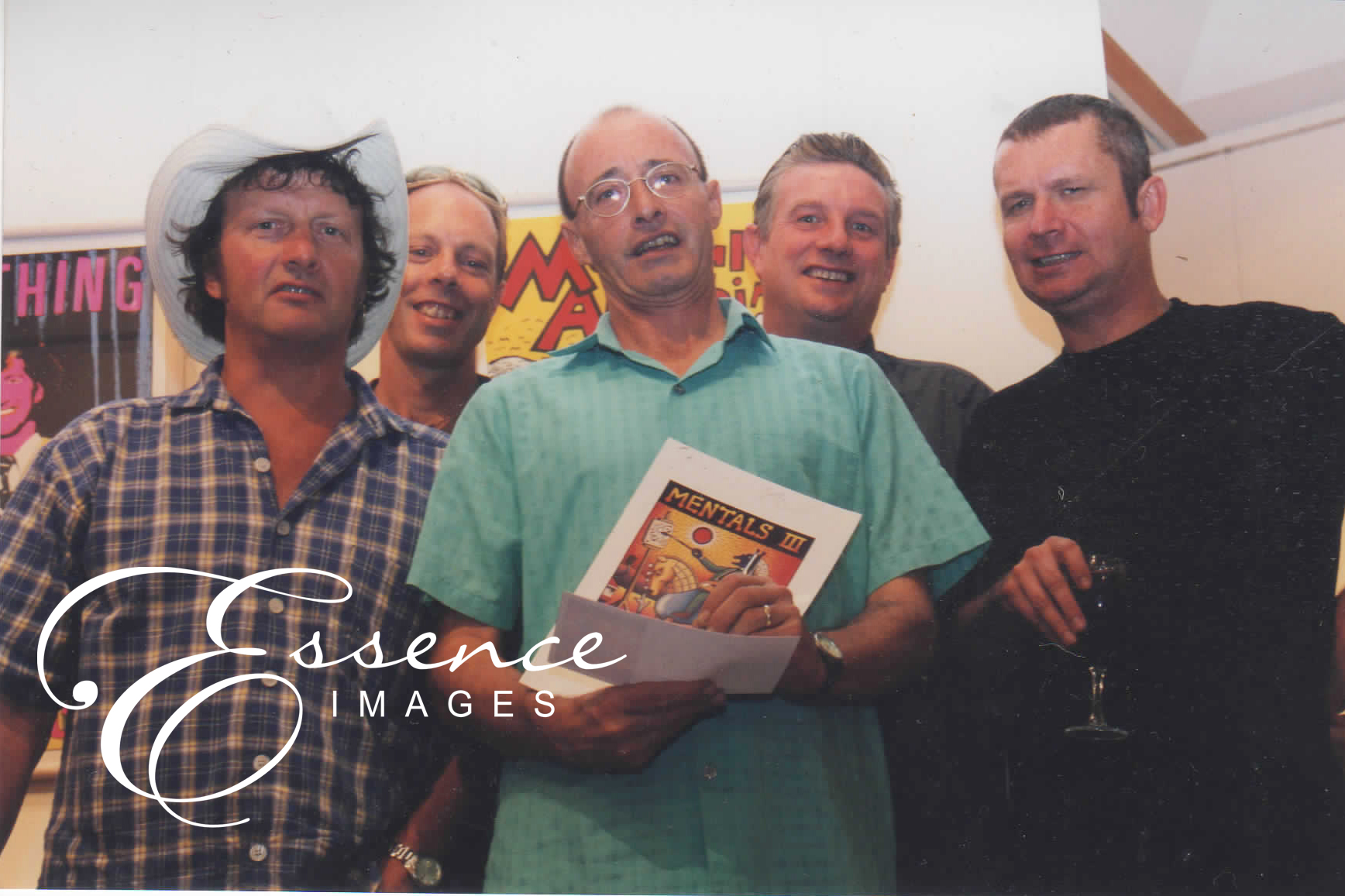 Musician Photography  Mental as Anything Essence Images Central Coast