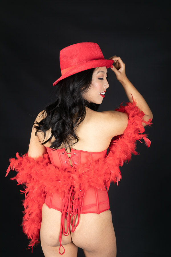 Burlesque Photography - Boudoir Photography - Essence Images Central Coast