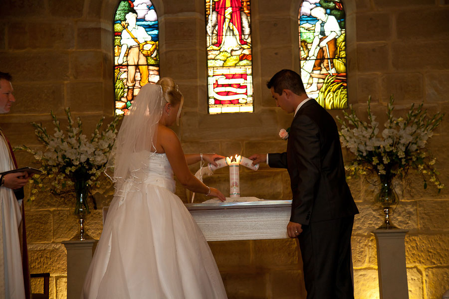 Anglican Church Gosford  Wedding Essence Images Central Coast