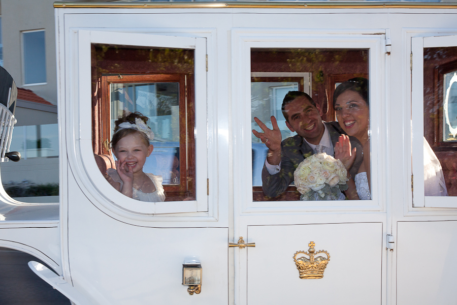 Horse & Carriage Wedding Essence Images Central Coast